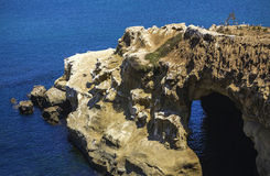 La Jolla shore. At San Diego, California, USA royalty free stock photography