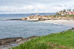 La Jolla shores in California Stock Image