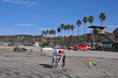 La Jolla Shores in San Diego, California Stock Photography