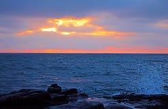 La Jolla Sunset royalty free stock photo