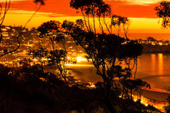 La Jolla Sunset Royalty Free Stock Images