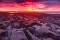 La Jolla Sunset Stock Image