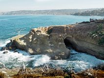 La- Jollahöhle Lizenzfreie Stockbilder