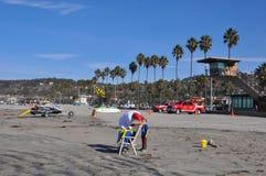 La- Jollaufer in San Diego, Kalifornien Stockfotografie