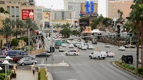 La journée de bande de Las Vegas banque de vidéos
