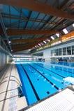 La journée 'portes ouvertes' des multisports centrent dans la verticale de Majorca Images libres de droits