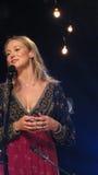 La joya realizó algunos de sus golpes más grandes para el iHeartRadio Live In New York Fotos de archivo