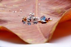 La joyería colorida Foto de archivo