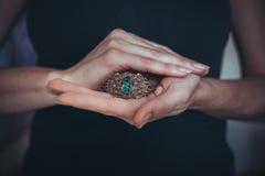 La joyería hecha a mano Imagenes de archivo
