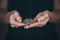 La joyería hecha a mano Imagen de archivo