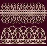 La joyería hizo las perlas del ââof. Foto de archivo