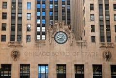 La junta de comercio de Chicago fotografía de archivo libre de regalías