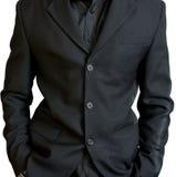 La jupe noire de l'homme d'affaires Photos stock