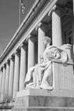La justicia está oculta Foto de archivo libre de regalías