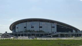 La Kazán-arena del estadio Los objetos del Universiadas en Kazán Foto de archivo