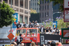 LA Kings Stanley Cup Parade Celebration Royalty Free Stock Image