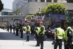 LA Kings 2014 Stanley Cup Victory Parade, Los Angeles, California, USA Stock Image