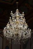La lámpara de cristal enorme Fotos de archivo libres de regalías
