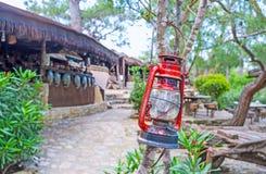 La lámpara de keroseno Imagen de archivo