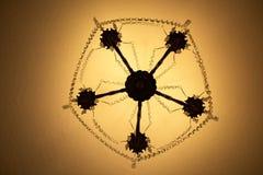La lámpara del techo Fotos de archivo