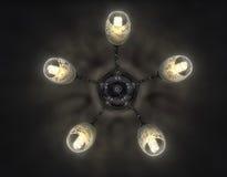 La lámpara en el techo Imágenes de archivo libres de regalías