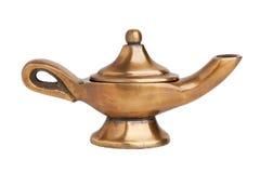 La lámpara mágica de Aladdin Foto de archivo libre de regalías