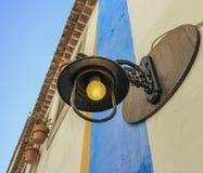 La lámpara vieja Foto de archivo