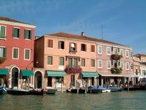 La línea de costa hace compras Murano Imagen de archivo