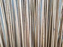 La línea de la hoja de coco hace la escoba Imágenes de archivo libres de regalías