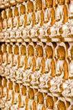La línea formación de imagen de buddha Foto de archivo libre de regalías