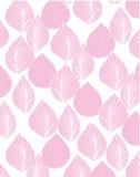 La línea rosada sale del fondo del vector Fotografía de archivo