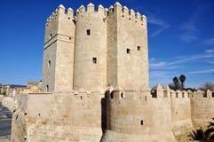 Tour de Calahorra à Cordoue, Espagne Photographie stock libre de droits