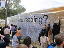 La LA cronometra il festival dei libri 11 immagine stock
