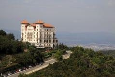 La la Floride d'hôtel de mamie près de Tibidabo, Barcelone, Catalogne, Espagne Photos libres de droits