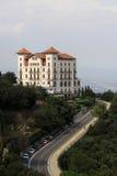 La la Floride d'hôtel de mamie près de Tibidabo, Barcelone, Catalogne, Espagne Image stock