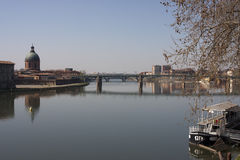La la Garonne, Toulouse Photo stock