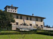 Palazzo in Castello in Italia fotografia stock libera da diritti