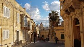 La La Valeta Malta Foto de archivo libre de regalías