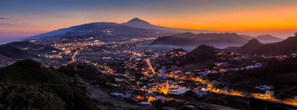 La Laguna. Is a city in Tenerife, Canary Islands.Spain Stock Photography