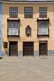 La Laguna. Architectural detail in the old Town of San Cristobal de La Laguna, Tenerife, Canary Islands Stock Photo