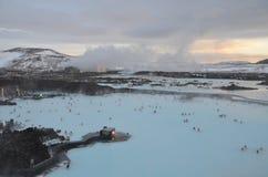 La laguna azul Imagen de archivo libre de regalías