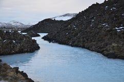 La laguna azul Foto de archivo