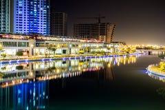 La laguna 2, Bahrein Fotografía de archivo