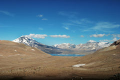 La Laguna del Diamante - 3 Imagens de Stock Royalty Free