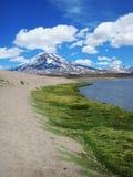 La Laguna del Diamante - V Imagens de Stock Royalty Free
