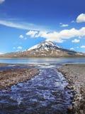 La Laguna del Diamante - V2 Fotografia de Stock