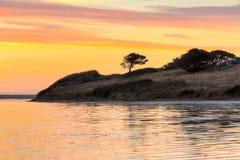 La laguna Dorset della flotta immagine stock libera da diritti