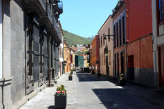 La Laguna in Tenerife, Canary isnalds, Spain Stock Image