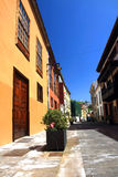 La Laguna in Tenerife, Canary isnalds, Spain Stock Photography