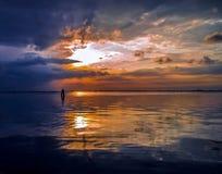 La lagune calme de Venise photo libre de droits
